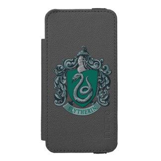 Slytherin Crest Green Incipio Watson™ iPhone 5 Wallet Case