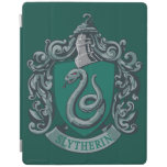 Slytherin Crest Green iPad Cover