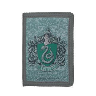 Slytherin Crest Green Tri-fold Wallet