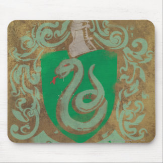 Slytherin Crest HPE6 Mouse Pad