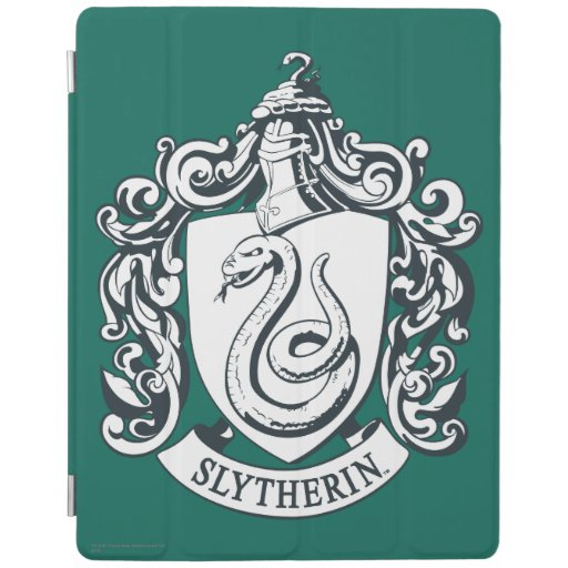 Slytherin Crest iPad Cover
