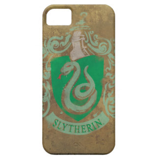 Slytherin Crest Painted iPhone 5 Covers