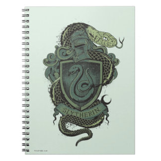SLYTHERIN™ Crest Spiral Notebooks