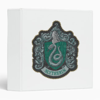 Slytherin Crest Vinyl Binder
