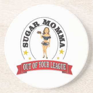 sm out of your league drink coaster