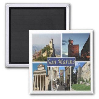 SM * San Marino - Monte Titano - Panorama Magnet