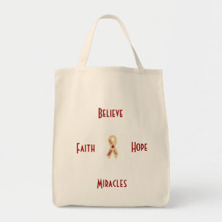 SMA Awareness Grocery Tote