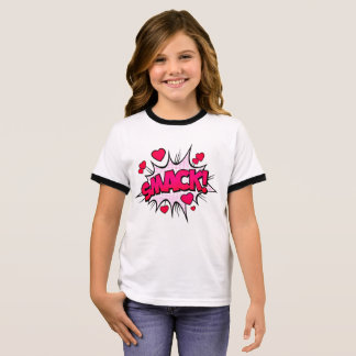 Smack With Love Ringer T-Shirt