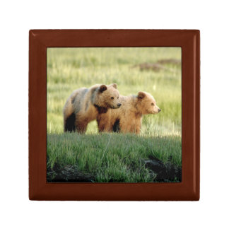 "Small 5.125"" Square w/4.25"" Tile Gift Box"