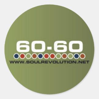 Small 60-60 Sticker