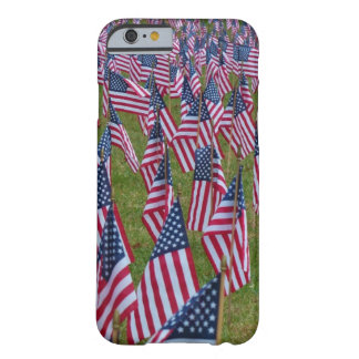 Small American Flag Rows Barely There iPhone 6 Case