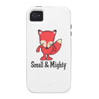 SMALL AND MIGHTY VIBE iPhone 4 COVER