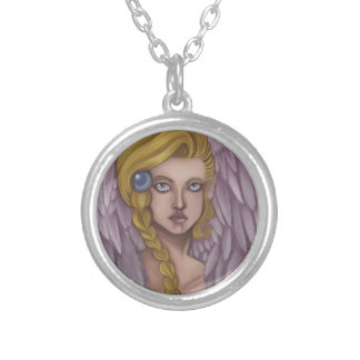 Small Angel Goddess Pendant Neclace