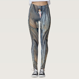 small angel in juniper tree bark leggings