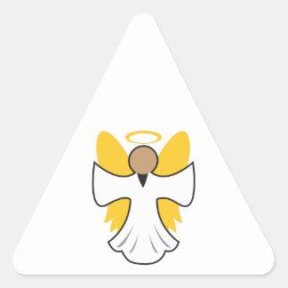 SMALL ANGEL TRIANGLE STICKER