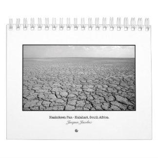 Small B&W Travel Image Calendar