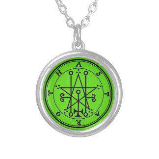 Small Bathed Necklace the Silver Astaroth Goétia