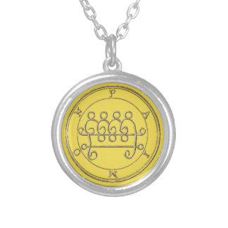 Small Bathed Necklace the Silver Paimon 2 Goétia.