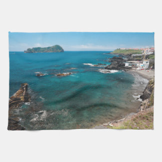 Small bay and islet kitchen towel