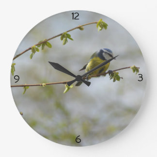 Small Bird Clock (Blue Tit)