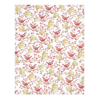Small birds and Cages - Letterhead To Design