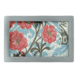 Small birds and flowers belt buckles