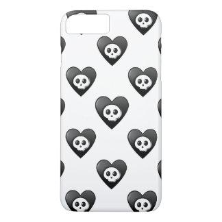 Small Black Hearts iPhone 7 Plus Case