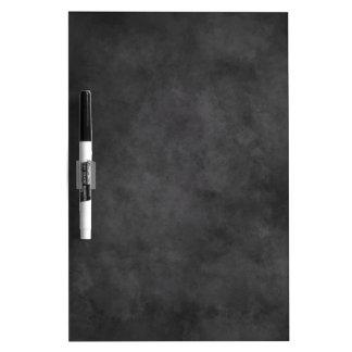 Small blackboard dry erase board for white markers