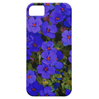 Small Blue Flowers Case For The iPhone 5
