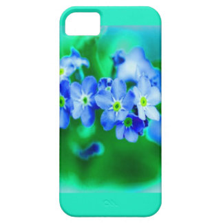 Small Blue Flowers iPhone 5 Cover