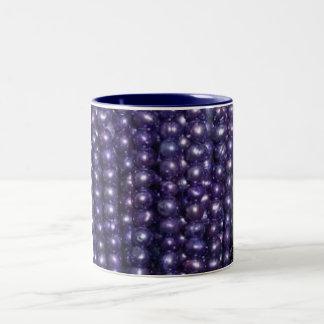 Small Blue Pearls Mug