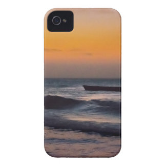 Small Boat at Sea Jericoacoara Brazil Case-Mate iPhone 4 Cases