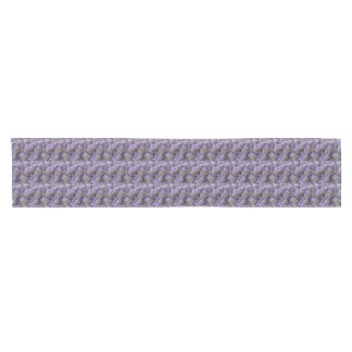 Small bouquets of lavender short table runner