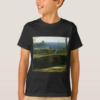 small bridge over looking sea T-Shirt