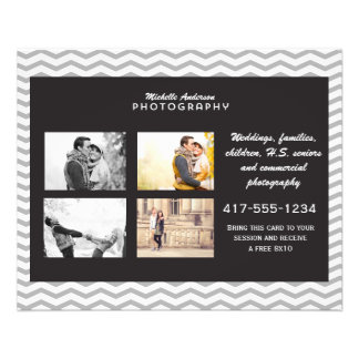 Small Brochure for Photography Business Flyer Design