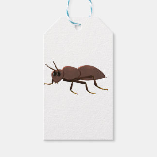 Small brown ant pack of gift tags
