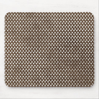 small brown dots background mouse pads