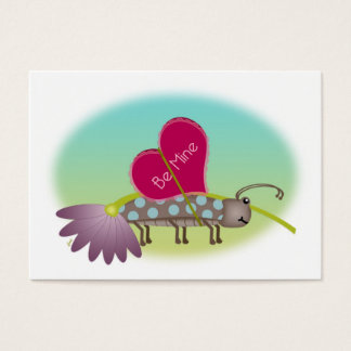 Small Bug Big LOVE Valentines Business Card