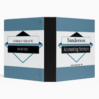 Small Business Manual Presentation 3 Ring Binder