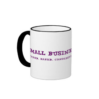 Small Business Owners Do Everything Ringer Mug