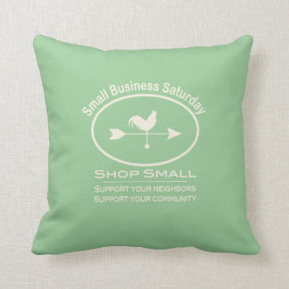Small Business Saturday - cream Rooster Pillows