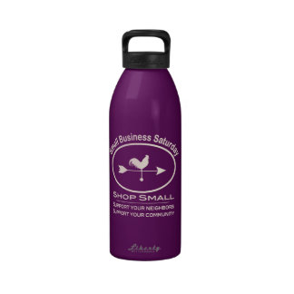 Small Business Saturday - cream Drinking Bottle