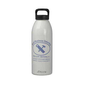Small Business Saturday - Hardware blue Reusable Water Bottle