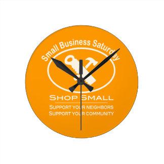 Small Business Saturday - Hardware cream Wall Clocks