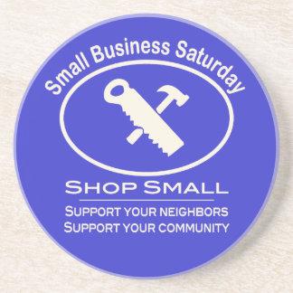 Small Business Saturday - Hardware cream Beverage Coasters