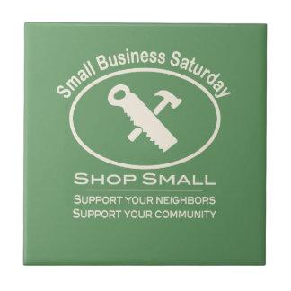 Small Business Saturday - Hardware cream Ceramic Tiles