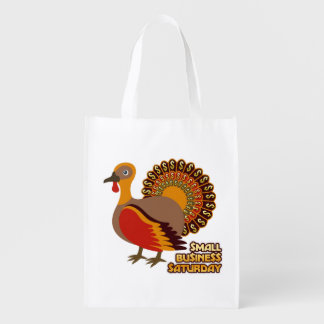 Small Business Saturday Reusable Shopping Bag