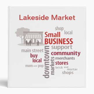 Small Business, Shop Local, Buy Local Binder