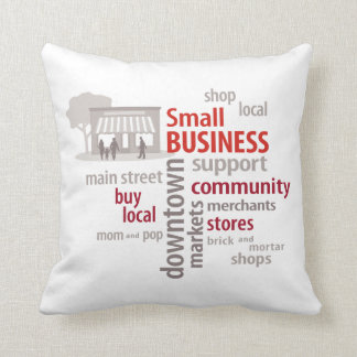 Small Business, Shop Local, Buy Local Pillows