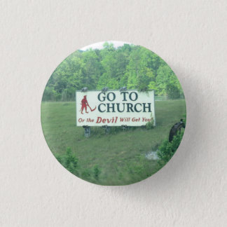 Small Button- Alabama Sign 1 Inch Round Button